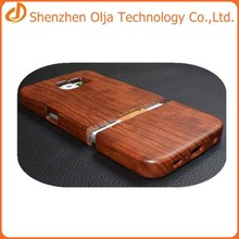 Olja 2015 hot sell wood case for samsung s6,new products wood mobile phone case for samsung galaxy s6 wood case