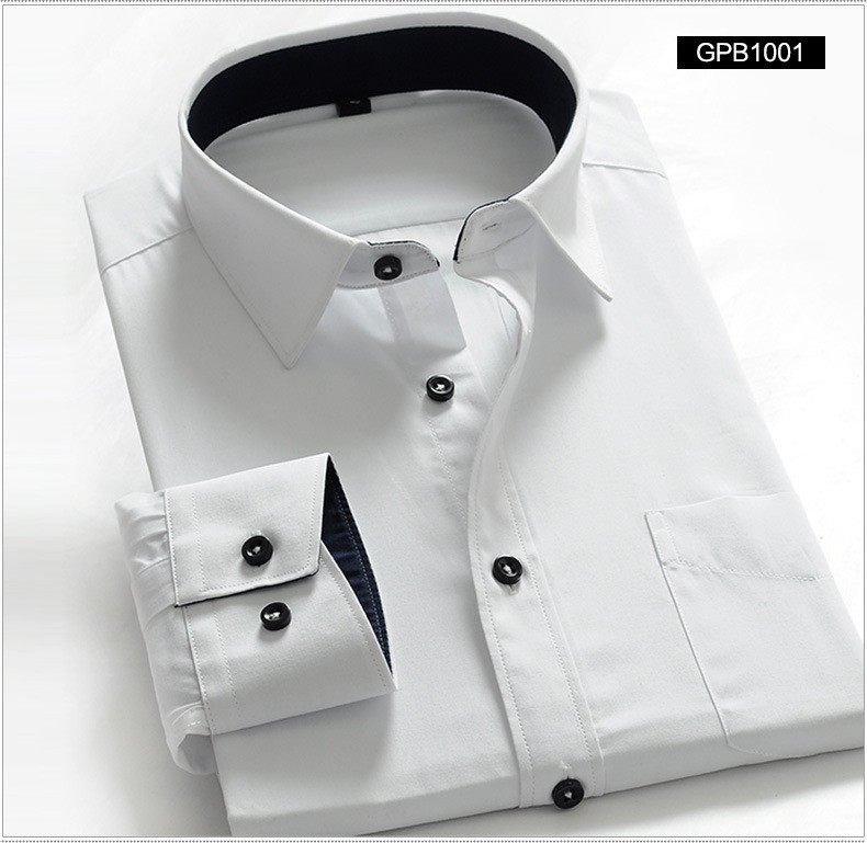 Мужская классическая рубашка CB XS/4xl & CB-0047