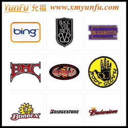 Fashion Custom Embroidery Patch adhesive