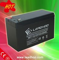ups solar dry battery 12v7ah for security alarm systems