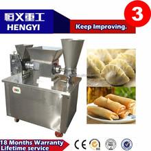 Factory price frozen chinese dumplings/Multifunctional pelmeni machine /304 stainless steel spring roll making machine