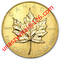24k replica coin Canada Gold Maple Leaf gold coin