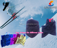 FL-12 Ningbo Lingshang be mad from 100% polyester and fleece colorfuldesign be used for unisex ski mask