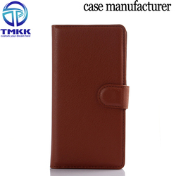 PU lychee leather case for Huawei Ascend P8, For Huawei Ascend P8 case