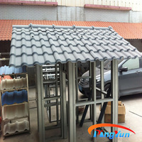alibaba new material/interlocking plastic roof tiles/pvc flexible plastic sheet