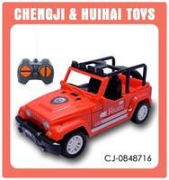 New arrive kids 1:32 plastic toy model rc jeep