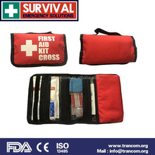 mini gift first aid kit red cross first aid bag CE06 customized first aid kit with CE/ISO/FDA/TGA