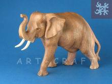 En bois elefant Suar 15 / 20 / 30 cm