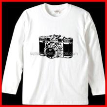 High quality smooth cotton children tshirt
