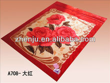 NEW arrival comfortable acrylic queen blanket/wholesale china blankets