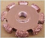 Domed contour rasp Carbide buffing wheel tire repair tool