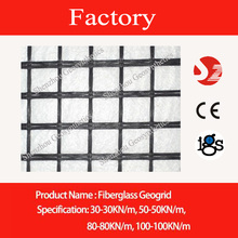 30/30 glassfiber geogrid with CE mark