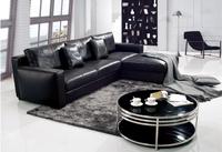 2015 Luxury classic modern design leather sofa furniture , corner leather sofa , corner sofa for living room