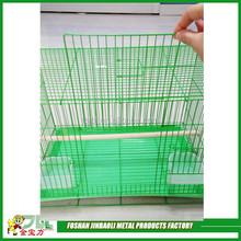 hot sale powder coated metal wire stainless steel bird cage