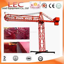 equipo de construcción12m 15m 18m Manual auge de colocación concreto