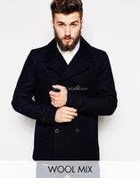 men new wool overcoat witner coat