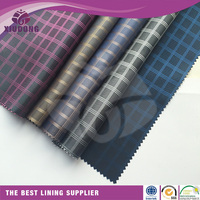 100% POLYESTER JACQUARD WEAVE LINING FABRIC INTERLINING FOR SUIT