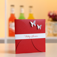 Best offer new coming wedding invitation card guangzhou
