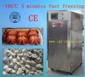 vegetales y frutas máquina de congelación rápida