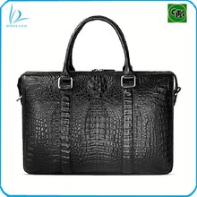 Hot selling real crocodile leather man bag briefcase bag