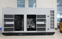 Synchronize system cummins diesel generator 600 kva with ATS