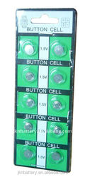 Cheap primary battery ag5 button cell battery lr750 in blister card