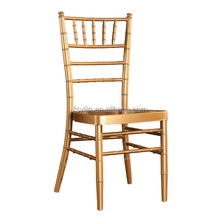 Hole banquet chairs golden iron chiavari tiffany chairs wedding chairs with qptional color