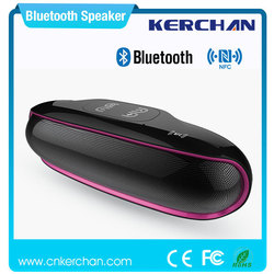 New design hign quality fashionable nfc bluetooth flat speakers car with hangsfree call