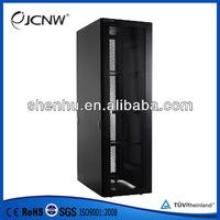 "Nine folded profiled 19"" server cabinet"
