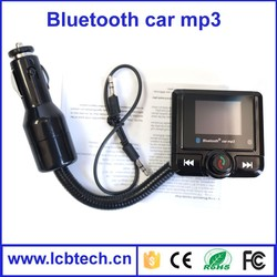 Bluetooth FM Transmitter MP3 Music Player Car with LED Display