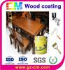Wood furniture water based wood coating