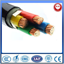 Different types of three phase 4core pvc insulated power cable