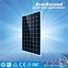 EverExceed High Efficiency 156*156mm Monocrystalline Solar Panel certificated by TUV/VDE/CE/IEC for customized solar system