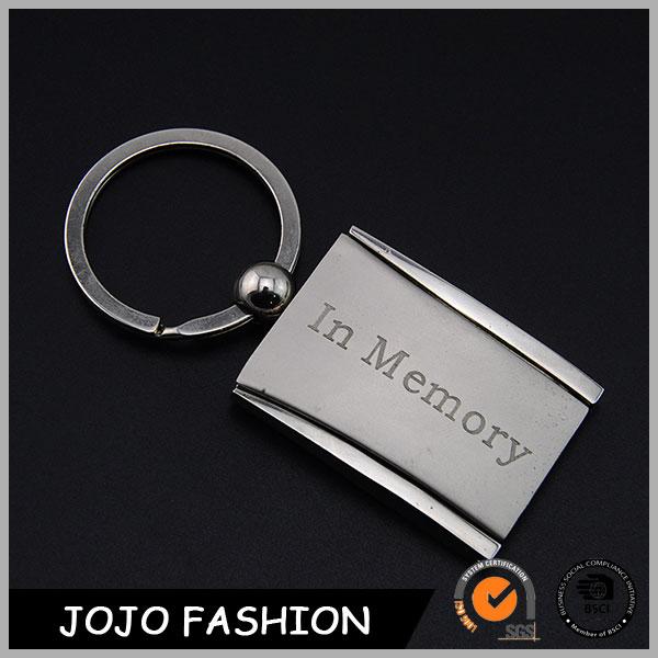 Caliente En la Memoria Marco de Fotos de Metal Llavero, Moda Llavero Personalizado Promocional/