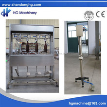 CE certificate small capacity manual isobaric beer bottle filler and capper 5 bottles per minute
