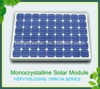 Best price per watt solar panel 215W for home use