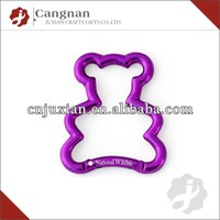 wholesale promotion Bear Carabiner Keychain