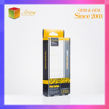Folding Clear Plastic Packaging Box For Cell Phone Accessories