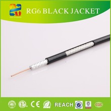 Located in Linan, Factory main product 75 Ohm Thin RG6 Coaxial Cable for European & American market!