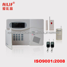 Sistema De Alarma Sin Hilos De La Seguridad Casera Del PSTN De Auto Marcación / SMS ALF-GSM01 VV
