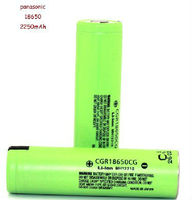 18650 panasonic li-ion battery 2250mAh