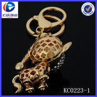 popular custom chain key fob for decoration for wholesale