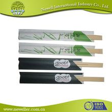 Factory disposable round bamboo chopsticks in bulk brown bamboo chopsticks