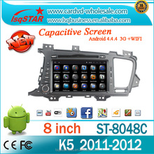 In dash android multimedia car DVD player with Navigation for KIA K5 2011-2012