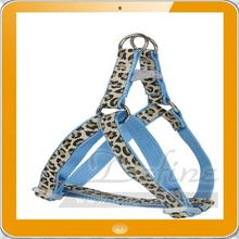 Leopard Puppy Lead Walking Safety Pet Dog Cat Harness Leashes in Pink Blue