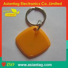 Small Low Cost RFID token key tag, Waterproof, Industrial standard