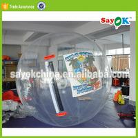 Giant bubble jumbo water ball inflatable water walking ball rental price