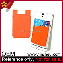 Wholesale Hot Promotional Mobile Goods Custom Logo Cheap Silicone Pocket for Phone