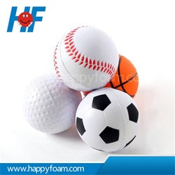 PU Material and Promotional Toy Style anti stress ball