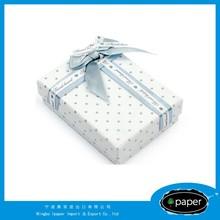 cosmetic display wedding favor box in china mdf cufflinks &jewels box